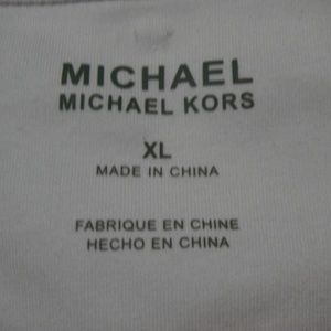 Michael Kors Shirts - MICHAEL KORS New White Thermal Style Pullover XL